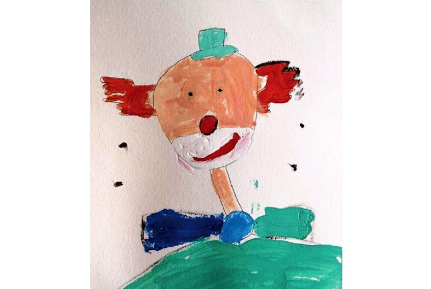 Today's Picture of the Day is by six-year-old Yubo Wang.