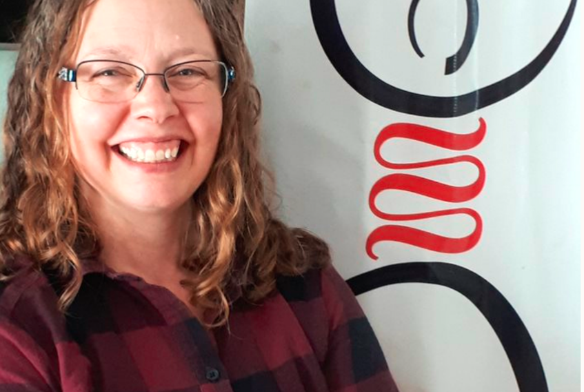 """Dawna MacIvor, development coordinator for the Maritime region of Crohn's and Colitis Canada, is happy to share a few of the organization's """"gutsy"""" resources."""