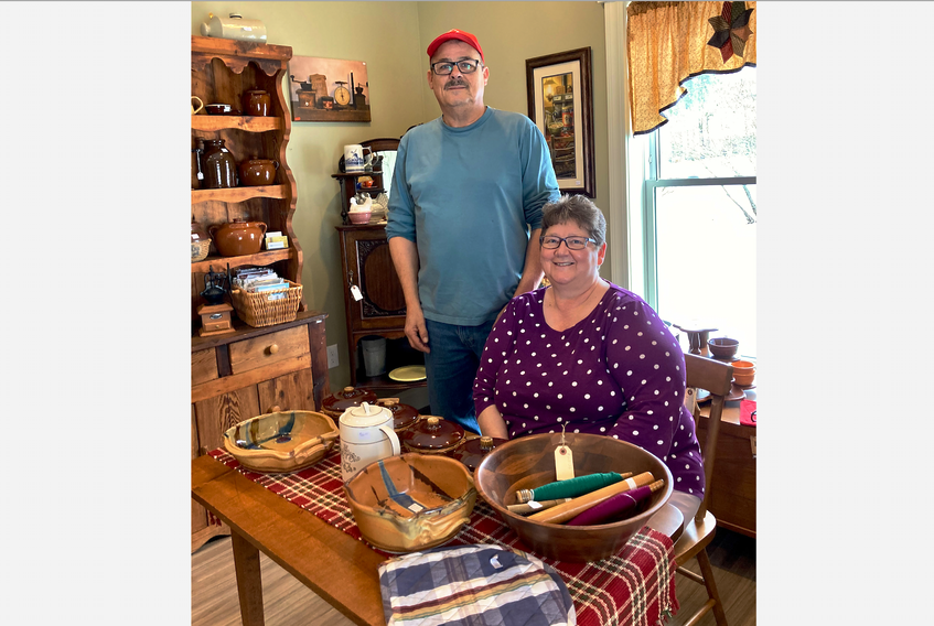 Aldona and Fabian Gerrior have owned Granny's Antiques and Gifts in Antigonish for five years. They opened the store on Main Street, then later moved it to 7 Adam St.