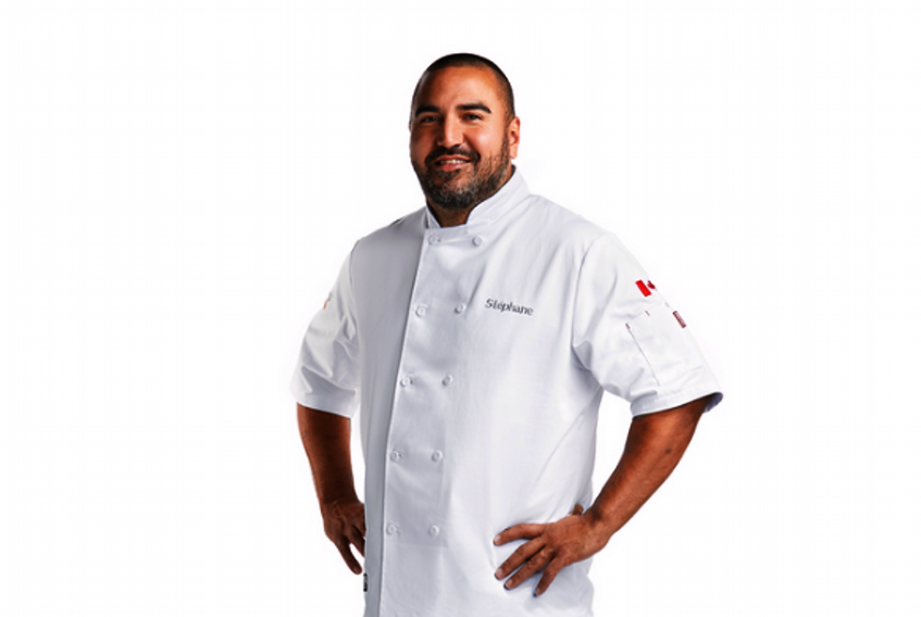 Stephane Levac, executive chef at Maritime Express Cider in Kentville, is one of 11 contestants appearing in the upcoming season of Top Chef Canada. – Food Network Canada