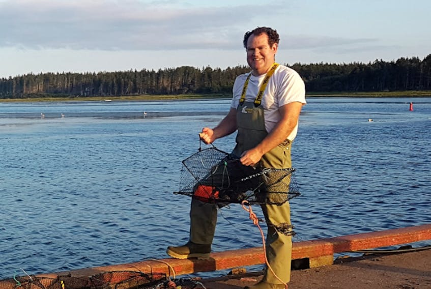 Fraser Clark is collaborating with researchers at the University of Maine to look at the impact of climate change on lobsters.
