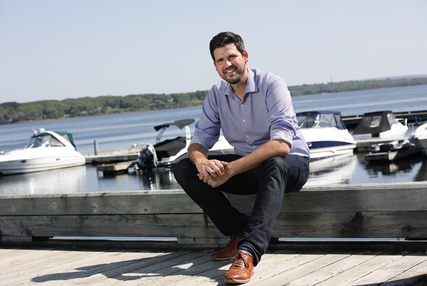 Liberal MP Sean Fraser is seeking re-election in Central Nova.