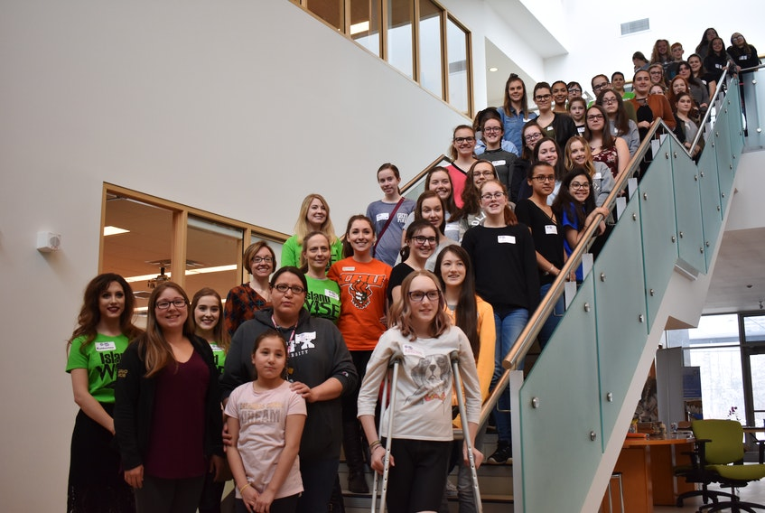 The seventh annual Women in Science retreat was held on Saturday at Cape Breton University. In total, 80 young females from high schools across Cape Breton participated in the event, which also feature guest speaker Dr. Randy Lynn Newman of Acadia University.