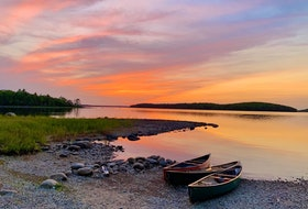 I can't get over how beautiful the skies are in Nova Scotia; the lilac, gold and hints of pink in this shot look like brush strokes in the heavens. Ethan MacLennan sent this picturesque photo from his recent canoe and camping trip in Kejimkujik, N.S. Now, I'm craving smores. Thanks, Ethan.