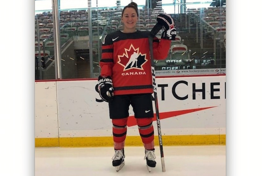 Bay Roberts native Shailynn Snow has been named to Canada's entry for the world under-18 women's hockey championship in Japan next month.