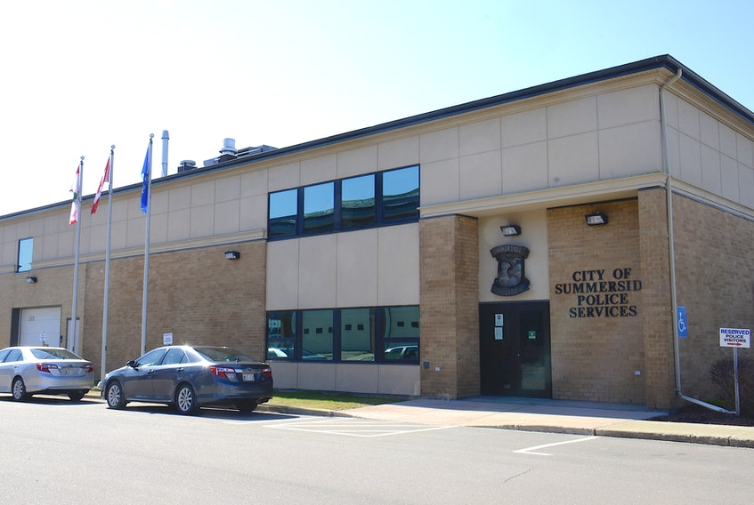 The Summerside Police Services building.