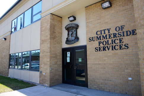 The Summerside police station is located in downtown.