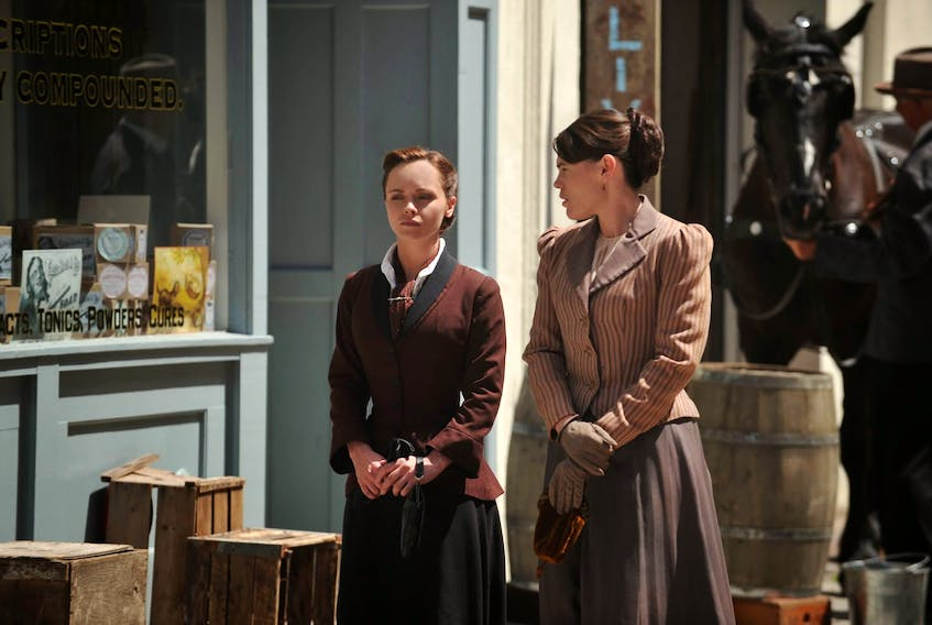 The Lifetime miniseries The Lizzie Borden Chronicles, starring Christina Ricci and Clea DuVal, was able to recreate its setting in historic New England with the help of veteran locations manager Gary Swim. - Lifetime