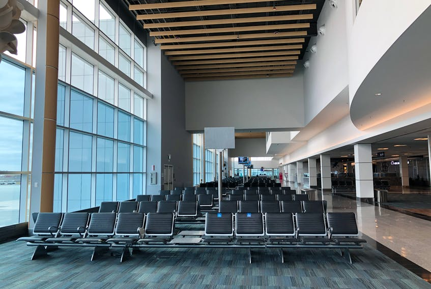 Halifax's airport saw 93 per cent less passengers this April compared to last year.
