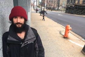 John Hartrick, who's been homeless since May, says the province needs to address a housing crisis in Halifax Regional Municipality.