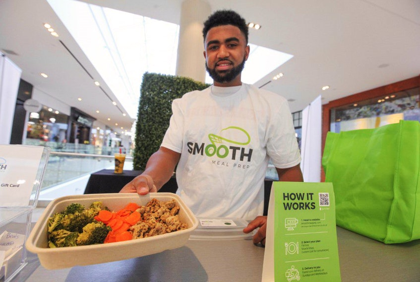 Nevell Provo is CEO and co-founder of Smooth Meal Prep, a startup business that prepares and delivers healthy meals to the door.
