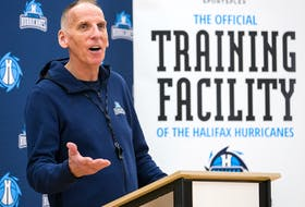Mike Leslie was named the president and general manager of the Halifax Hurricanes on Friday. Ryan Marchand was named to replace Leslie as the head coach of NBL of Canada team. PAUL MORRIS