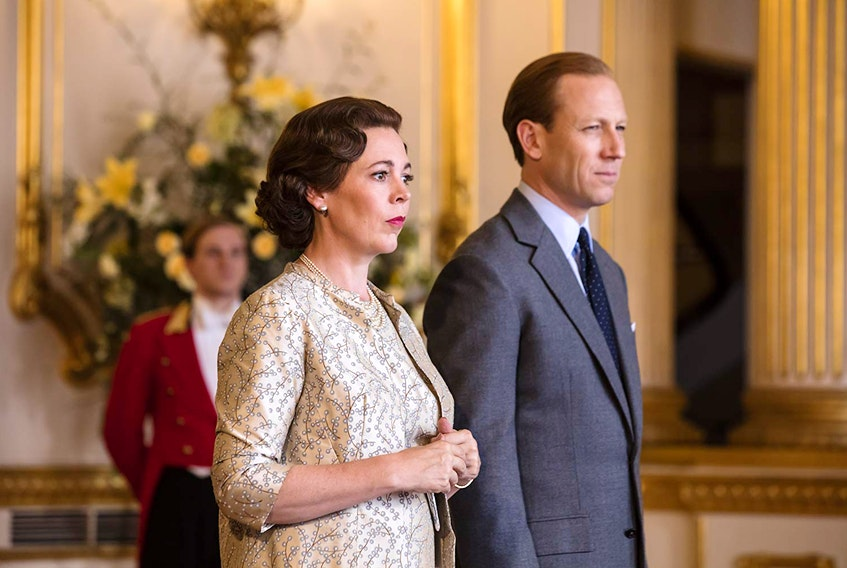 Olivia Colman and Tobias Menzies star as Queen Elizabeth II and Prince Philip, Duke of Edinburgh in season three of Netflix original The Crown.