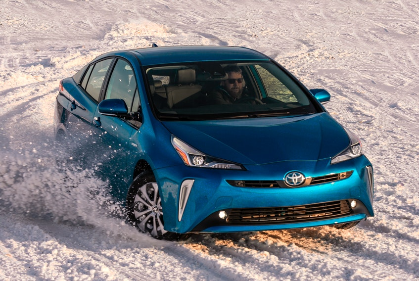 Toyota's now made AWD available, optionally, with the new Prius AWD-E.