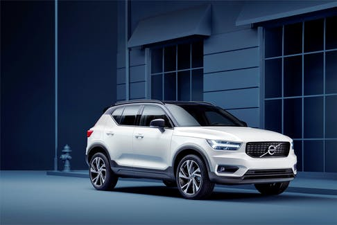 The 2020 Volvo XC40 R-Design is powered by a turbocharged 2.0-litre, four-cylinder engine that generates up to 248 horsepower and 258 lb.-ft. of torque. - Volvo