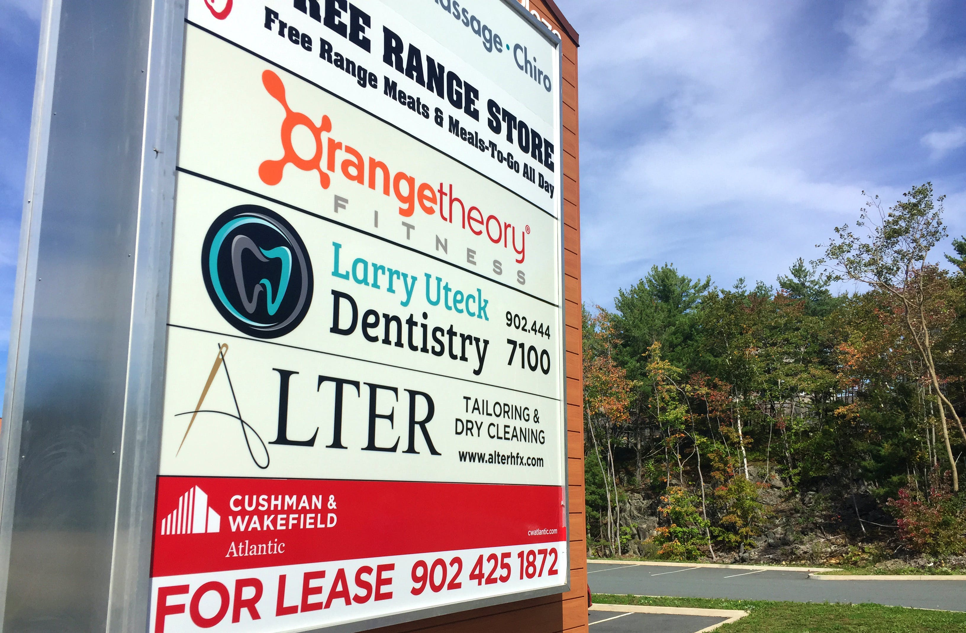 Halifax, unlike most of the country, has seen a drop in commercial real estate vacancies. Properties like the Kearney Lake Plaza, which next month will add the Free Range Pub, are thriving.