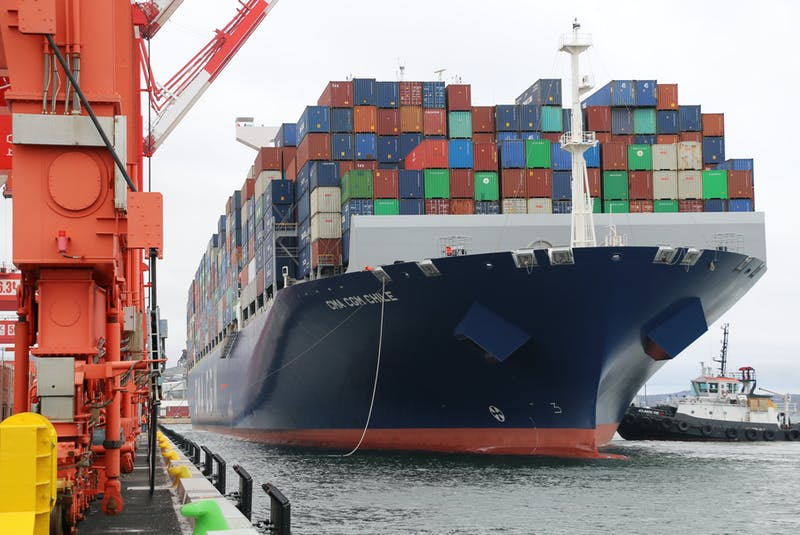 The CMA CGM Chile is an Ultra Class Container Vessel, with 15,072 TEU (twenty-foot unit) carrying capacity and 366 metres length overall. - Contributed