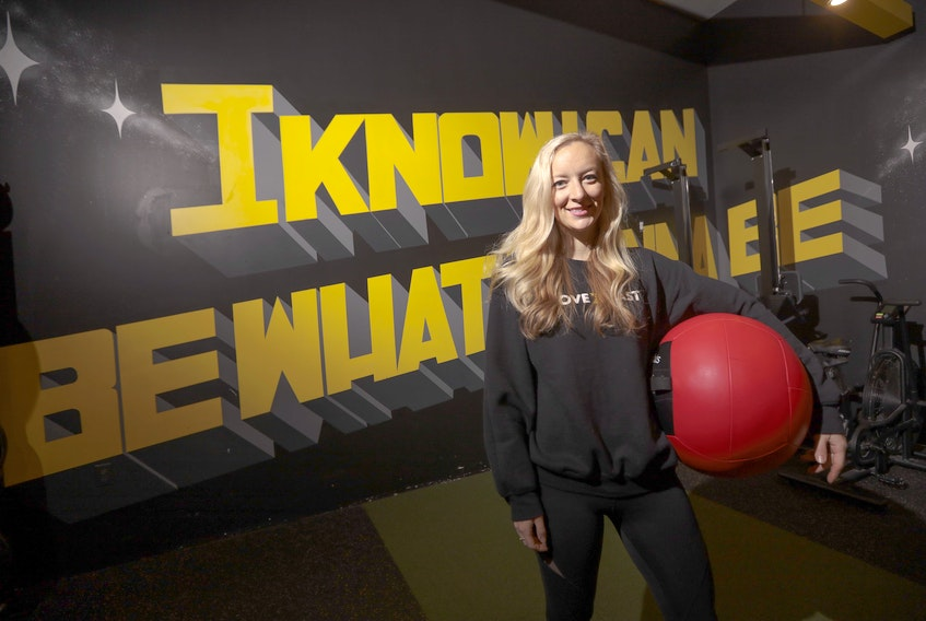Hannah Kovacs, the owner of Move East, a new boutique fitness studio on Quinpool Road, says she loves having a room full of people that she can develop relationships with and get to know personally.