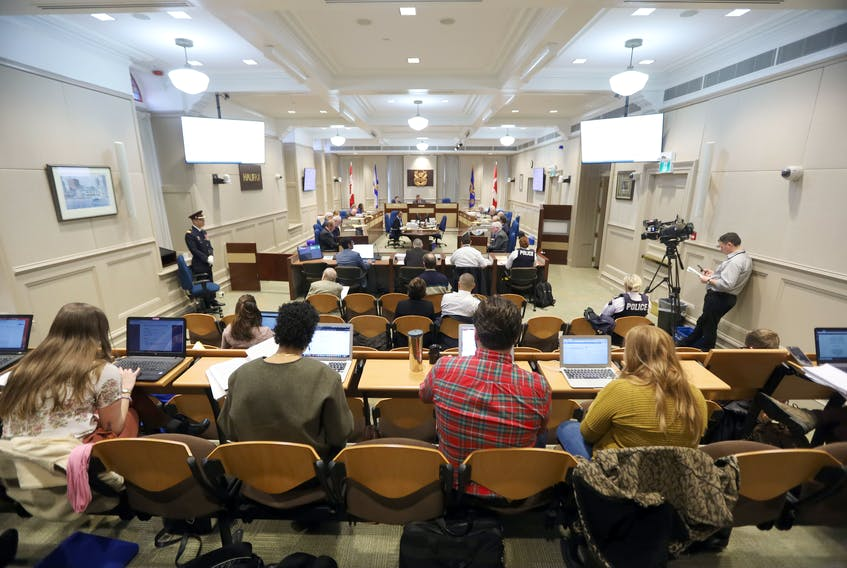 Jan. 14, 2020—File shot of Halifax Regional Muncipality city council in session Jan. 14, 2020. ERIC WYNNE/Chronicle Herald