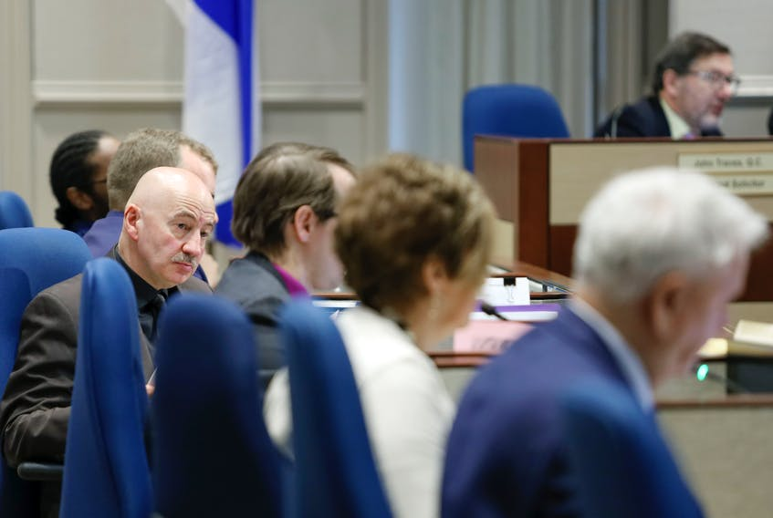 Tony Mancini, District 6 councillor for Halifax Regional Muncipality city council, in session Jan. 14, 2020. — ERIC WYNNE/Chronicle Herald