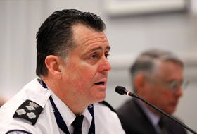 Halifax Regional Police Chief Dan Kinsella speaks at a Halifax regional council in session Jan. 14, 2020. On Monday, Kinsella told the Halifax board of police commissioners about HRP's new internal legitimate and bias-free policing program.