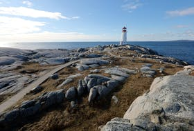 Jan. 15, 2021--Peggy's Cove is a beloved, iconic part of Nova Scotia and one of the province's most popular tourist areas. To help ensure a safe, accessible and engaging experience for visitors, business operators and residents, the Province of Nova Scotia and the Government of Canada are investing $3.1 million to support the construction of an accessible viewing deck on the rugged shore. ERIC WYNNE/Chronicle Herald