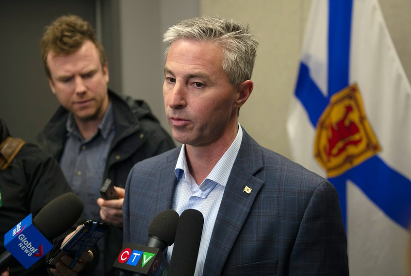 Progressive Conservative leader Tim Houston responds to Premier Stephen McNeil's announcement on Friday morning that the Boat Harbour Act will not be extended. Ryan Taplin - The Chronicle Herald Photo taken on Friday, December 20, 2019.