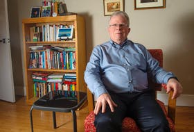 Brian Duggan, author of Coaching From the Inside Out: A Personal Approach to Coaching For Change, poses for a photo at his Halifax home on Thursday, February 6, 2020.