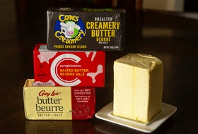 Demand for butter in 2020 was up in Canada and some producers have been adding palm oil to cow feed which causes butter to stay harder at room temperature.