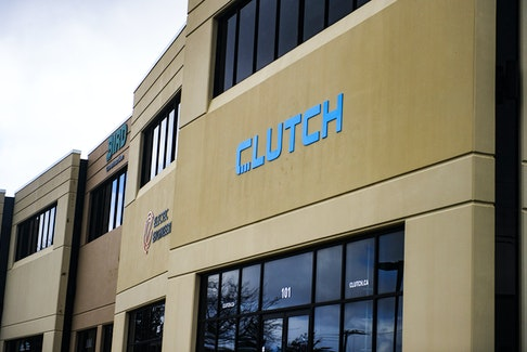 The Clutch offices in Bedford.