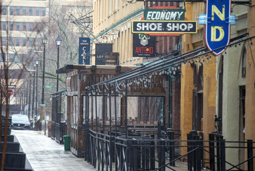 May 7, 2020 A normally bustling bar scene on Argyle Street in Halifax has taken a hit during the pandemic. The Chronicle Herald