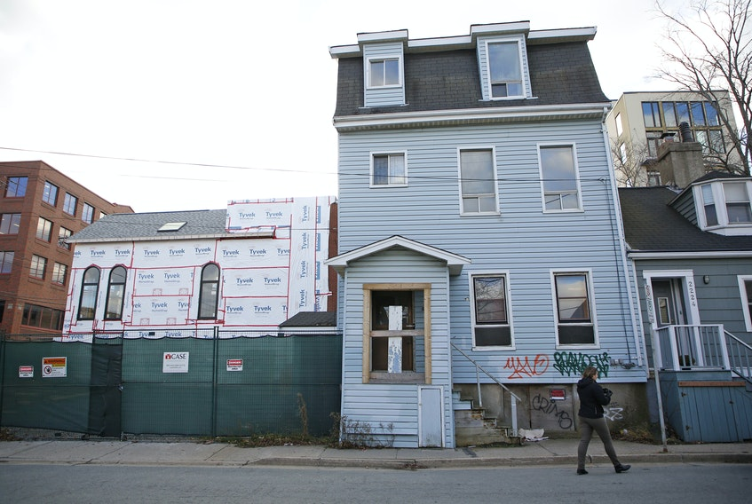FOR MUNRO STORY: The Maitland Street site for proposed affordable housing development in Halifax Tuesday November 24, 2020.  TIM KROCHAK PHOTO
