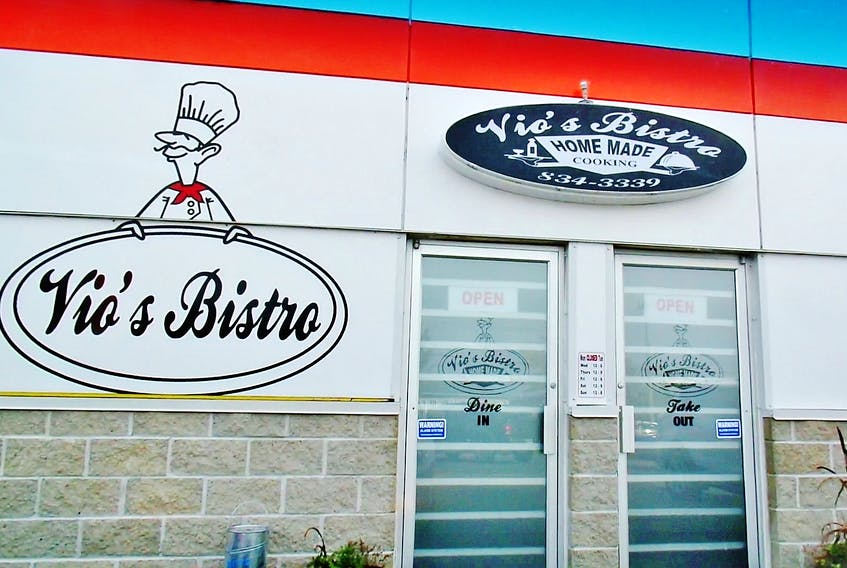An outside view of Vio's Bistro. — Karl Wells photo