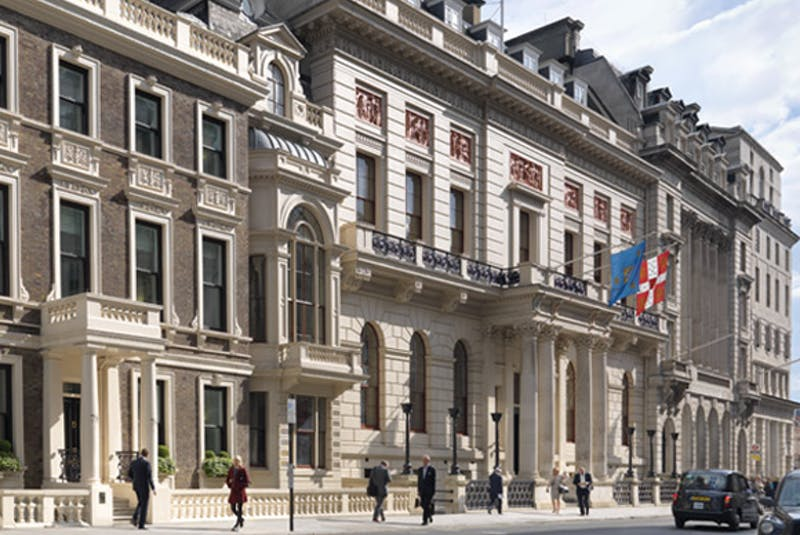 The Oxford and Cambridge Club in London, a members-only club where representatives from Nalcor Energy's Muskrat Falls hydroelectric project team and Astaldi met in 2014 to discuss ongoing construction. (Oxford and Cambridge Club website photo.) - Contributed