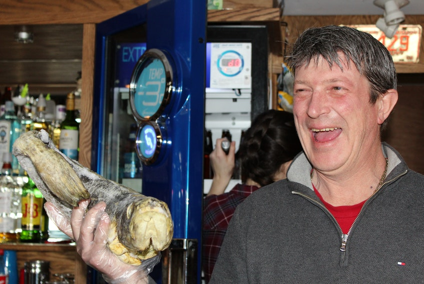 Glenn Stokes quips Mrs. Liddy's in Torbay is not only the province's oldest bar, it has the oldest cod.