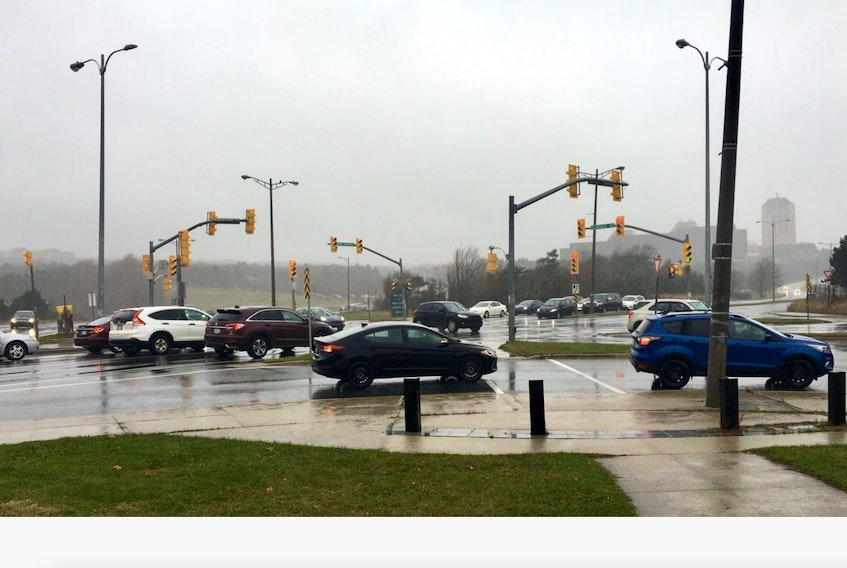The intersection of Prince Philip Drive and Allandale Road sees up to 20,000 vehicles every day. With such traffic volumes, it has been the site of the most collisions in the capital city for the past few years.