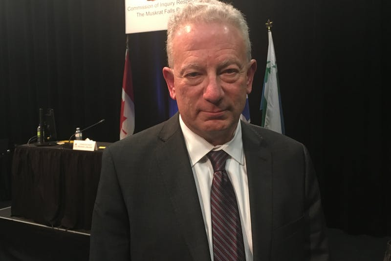 Scott Shaffer, a forensic auditor with Grant Thornton, presented his findings to the Commission of Inquiry Respecting the Muskrat Falls Project in Happy Valley-Goose Bay. - SaltWire Network file photo