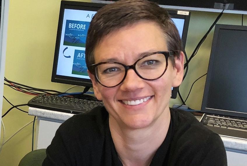 DFO scientist Karen Dwyer.