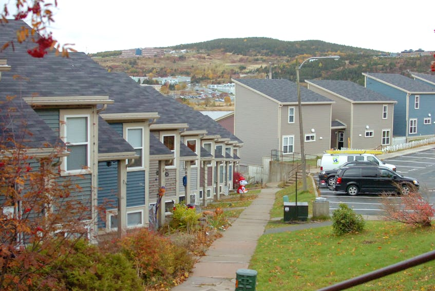 Many residents in these Forest Road housing units have been forced to move out after the City of St. John's raised their rent.