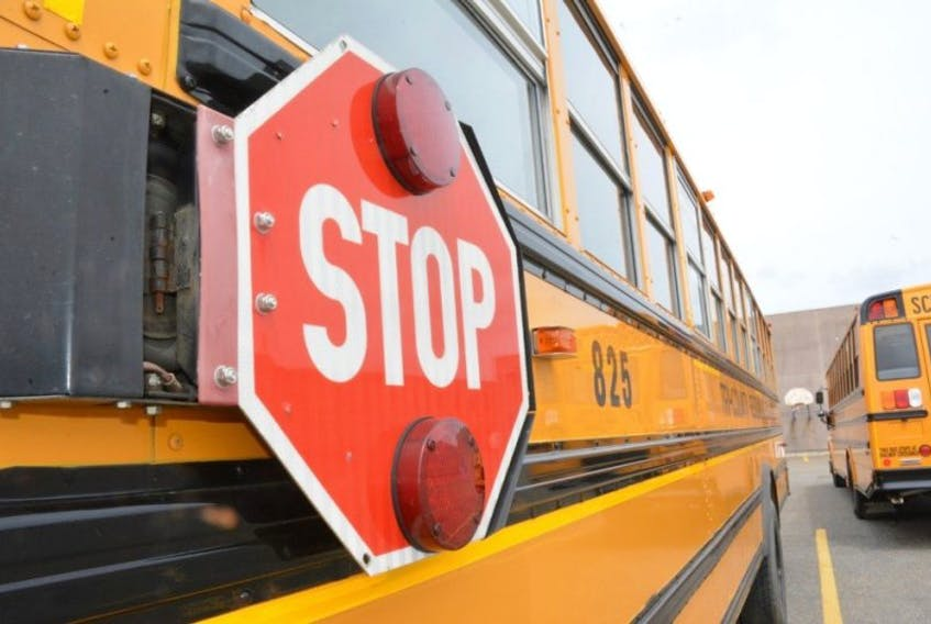 Parents in the province have been complaining for years about the 1.6-km school busing policy, with many citing safety as their reason. — File photo