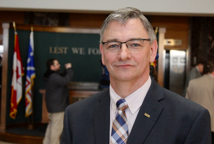 Jerry Earle, President of Newfoundland and Labrador Association of Public and Private Employees