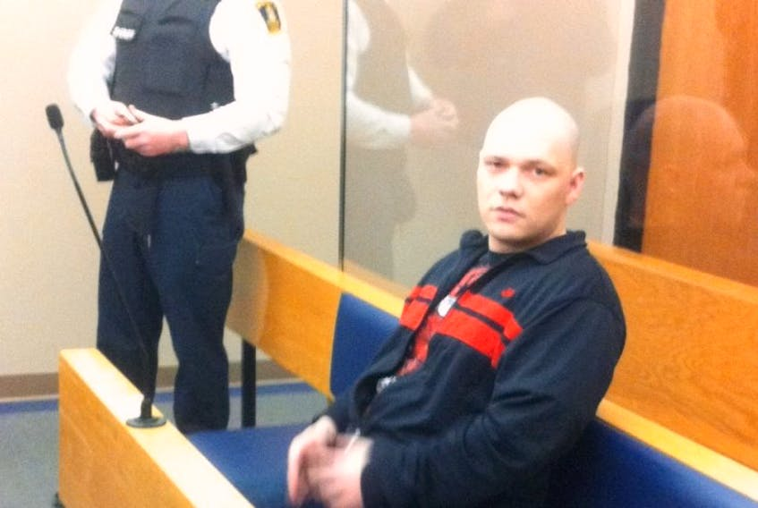 Justin Hopkins during an earlier court appearance.