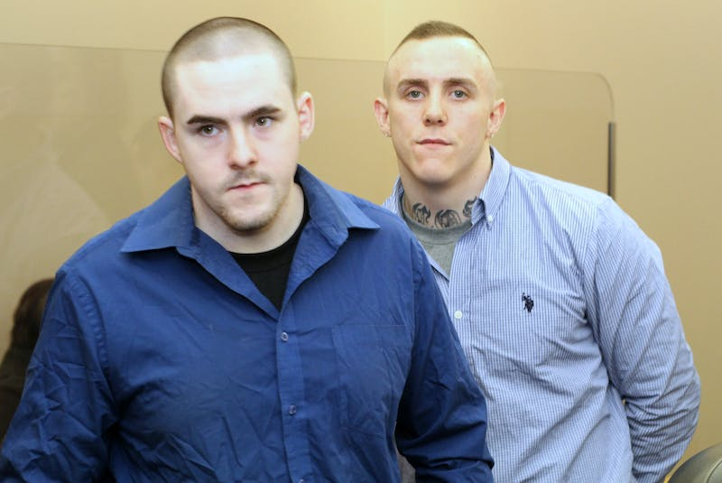 Chesley Lucas (left) and Calvin Kenny. - SaltWire Network file photo