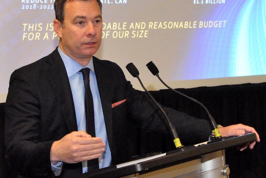 Newfoundland and Labrador Employers' Council executive director Richard Alexander.