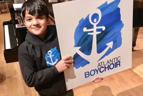 Syrian-born Yaman Bai came to St. John's with his family about six months ago. Since that time, he has been learning English, and is now a member of the Atlantic Boychoir.