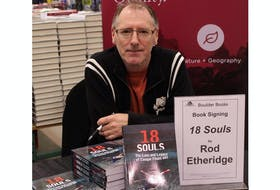 """Rod Etheridge is the author of """"18 Souls: The Loss and Legacy of Cougar Flight 491."""""""