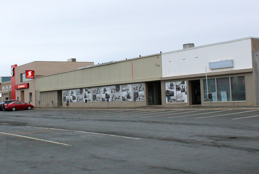 The former SaveEasy building in Churchill Square has been empty for many years.