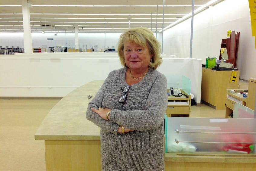After working at the Sears department store in St. John's for 35 years, Patsy Whalen of Paradise worked her last shift Monday, when the store closed its doors for the last time.