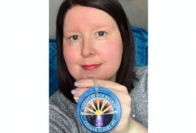 Jill Hawkins, who lives on the Southern Shore, is a former offshore worker and keeps a memento at home and at work to remember the 17 colleagues who perished in the Cougar Helicopters Flight 491 crash on March 12, 2009.