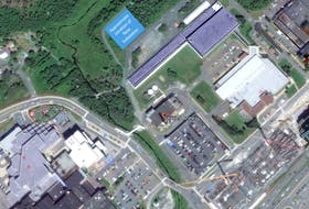 A review still has to be done and details finalized, but this map shows the current general area of where a new electrical substation might be built in St. John's.